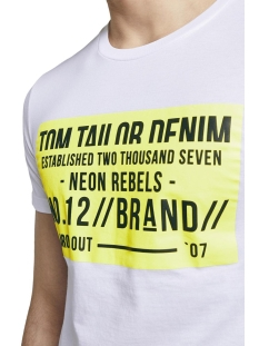 t shirt met print 1015938xx12 tom tailor t-shirt 20000