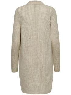 onljade l/s cardigan knt 15179815 only vest whitecap gray