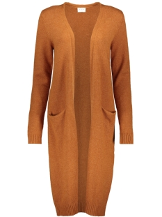 Vila Vest VIRIL L/S LONG KNIT CARDIGAN-FAV 14043282 Caramel Cafe/MELANGE