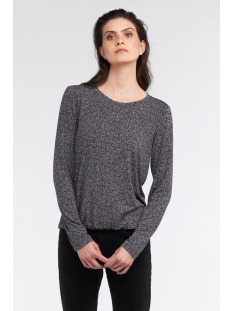 top met bloemenprint en elastische zoom 21101784 sandwich t-shirt 80027