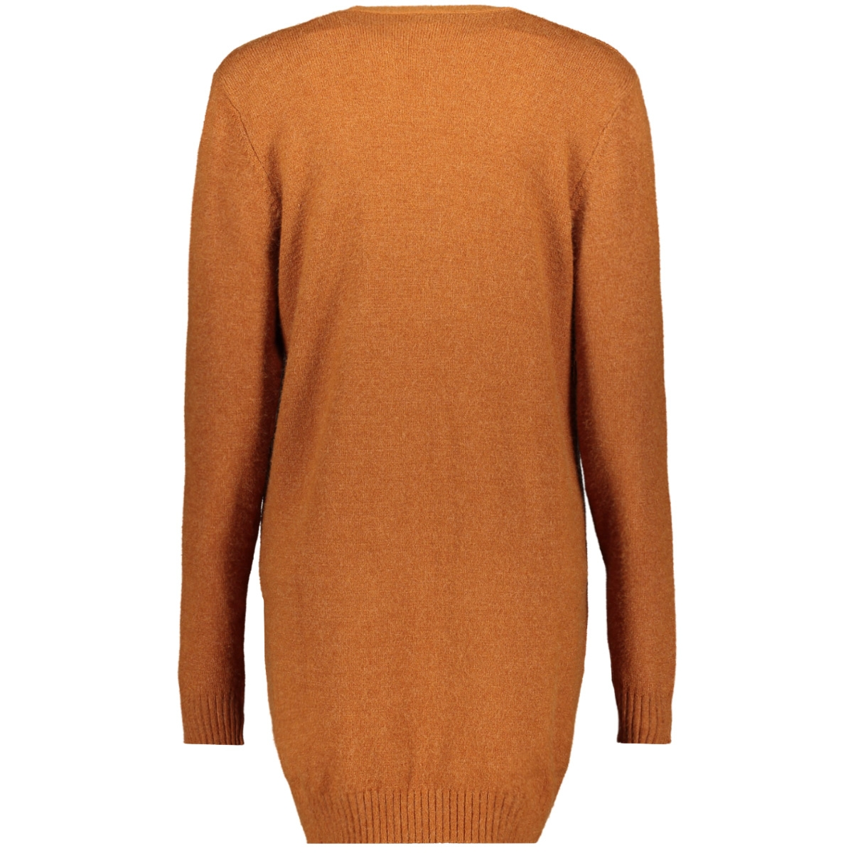 viril l/s open knit cardigan-fav 14044095 vila vest caramel cafe/melange