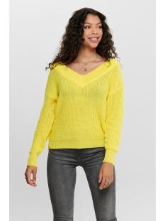onlmelton life l/s pullover knt noos 15192289 only trui lemon drop