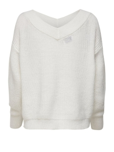 onlmelton life l/s pullover knt noos 15192289 only trui cloud dancer