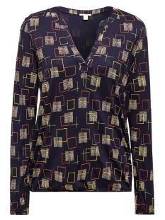 Esprit T-shirt LONGSLEEVE MET PRINT EN ELASTIEK 999EE1K840 E400