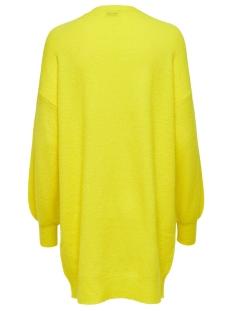 jdyfavorite l/s cardigan denim knt 15196957 jacqueline de yong vest neon yellow