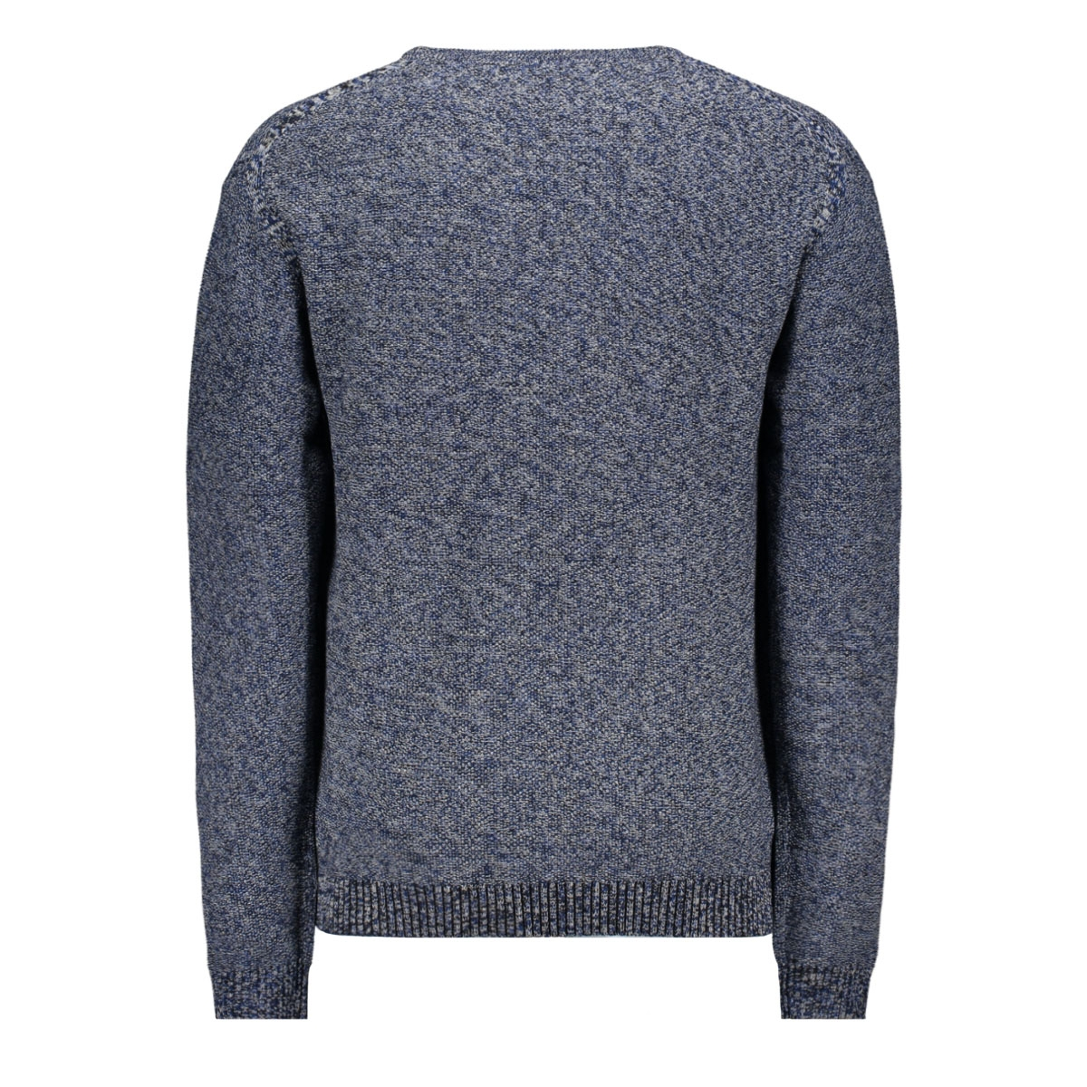 jprblagrey knit crew neck 12168318 jack & jones trui black