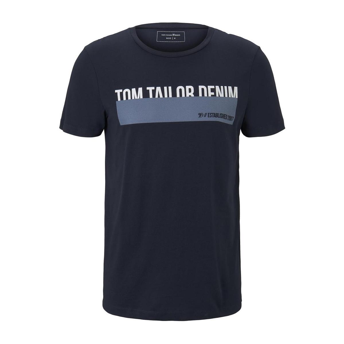 t shirt met print 1015303xx12 tom tailor t-shirt 10668