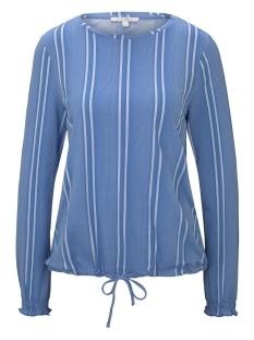 Tom Tailor T-shirt GESTREEPTE TOP MET TREKKOORD 1016862XX71 21580
