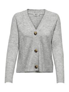 Only Vest ONLCAROL L/S CARDIGAN KNT 15196734 Light Grey Melange
