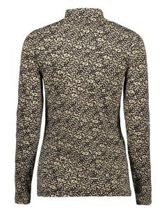 t shirt met opstaande kraag ge901202 garcia t-shirt 60 black