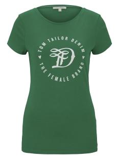 Tom Tailor T-shirt JERSEY T SHIRT 1016431XX71 21349