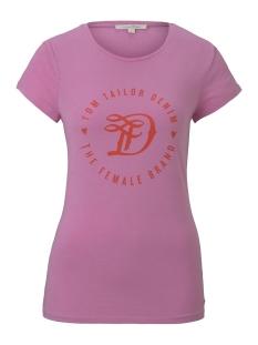 Tom Tailor T-shirt JERSEY T SHIRT 1016431XX71 21347