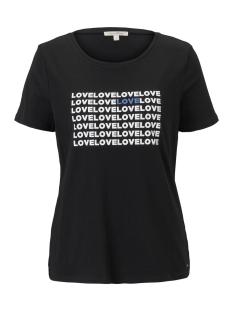 Tom Tailor T-shirt T SHIRT MET LOVE PRINT 1016437XX71 14482