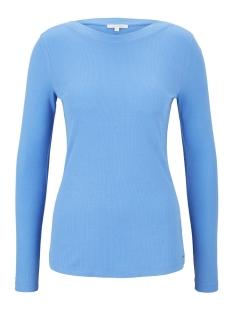 Tom Tailor T-shirt GERIBDE TOP MET BOOTHALS 1016857XX71 17723