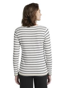 t shirt met streepdessign 1016936xx70 tom tailor t-shirt 21885