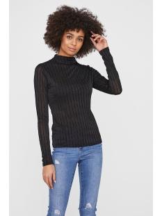 Vero Moda T-shirt VMDINA LS HIGH NECK TOP JRS 10221600 Black
