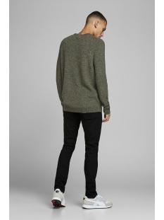 jcoinfinity  knit crew neck 12167761 jack & jones trui sulphur spring/knit fit