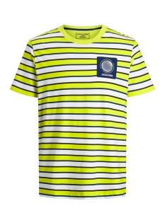 Jack & Jones T-shirt JCORELIEF TEE SS CREW NECK 12167332 Sulphur Spring/SLIM