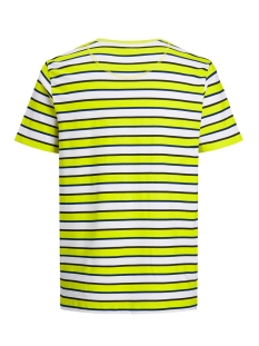 jcorelief tee ss crew neck 12167332 jack & jones t-shirt sulphur spring/slim