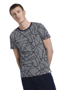 Tom Tailor T-shirt T SHIRT MET ALL OVER PRINT 1016829XX12 21644