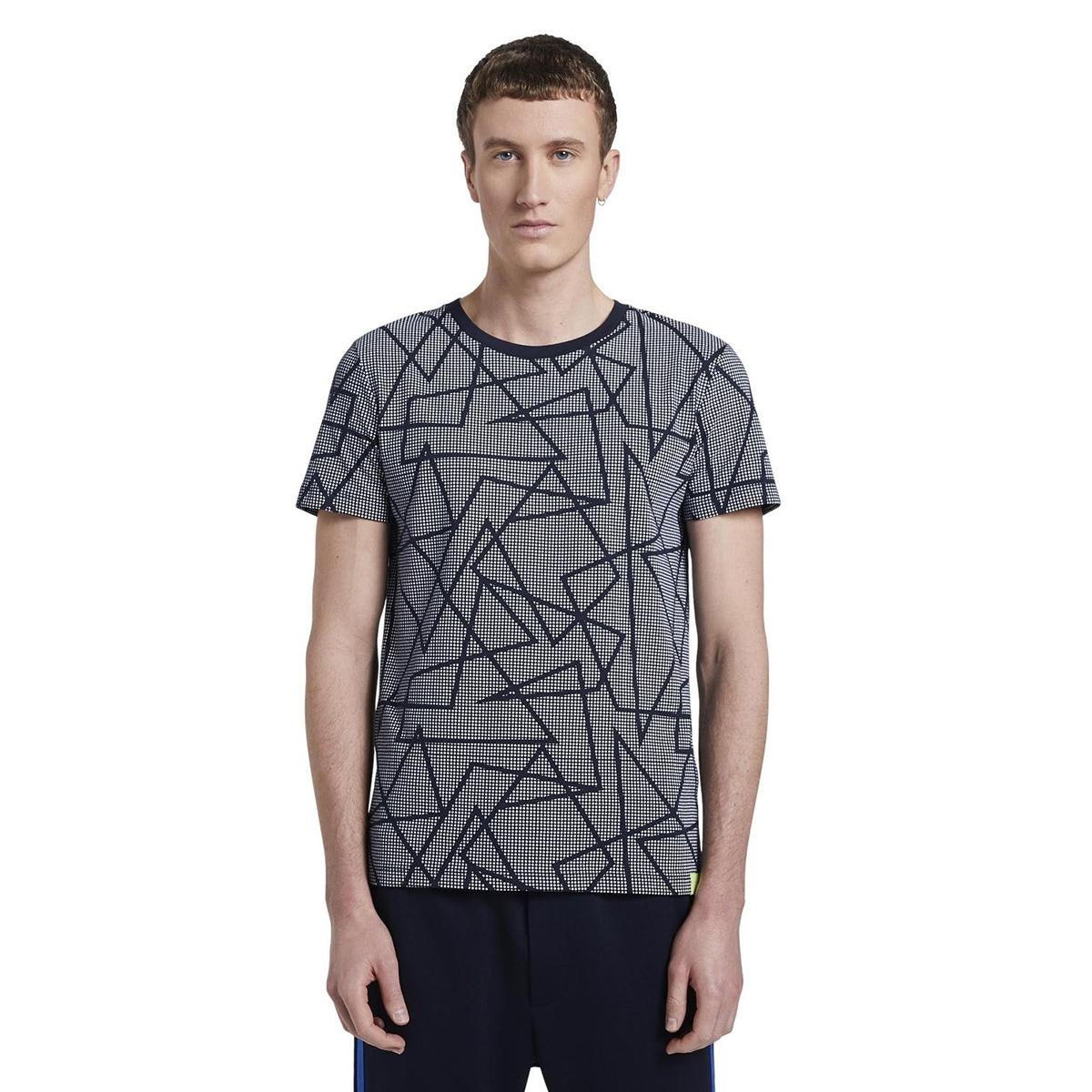 t shirt met all over print 1016829xx12 tom tailor t-shirt 21644