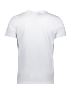 sport the green lin mmks01754 antony morato t-shirt white