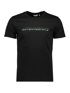 Antony Morato T-shirt SPORT THE GREEN LIN MMKS01754 BLACK