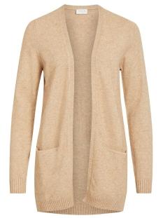 viril l/s open knit cardigan-noos 14044041 vila vest nomad