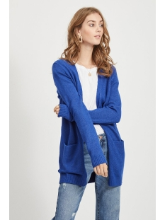 VIRIL L/S OPEN KNIT CARDIGAN-NOOS 14044041 Mazarine Blue