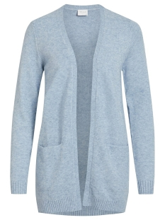 Vila Vest VIRIL L/S OPEN KNIT CARDIGAN-NOOS 14044041 Ashley Blue