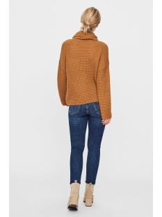 vmleanna ls rollneck blouse 10224420 vero moda trui meerkat