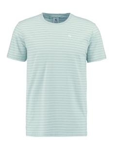 Garcia T-shirt T SHIRT MET STREEP GS010102 3020 Hill Green