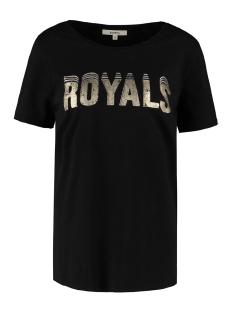 Garcia T-shirt T SHIRT MET TEKST OPDRUK M00002 60 BLACK