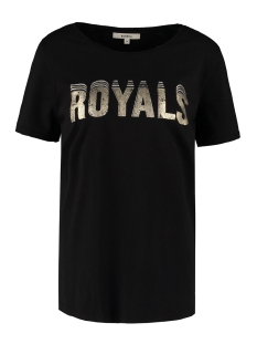 t shirt met tekst opdruk m00002 garcia t-shirt 60 black