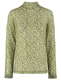 Garcia T-shirt MESH TOP MET ALL OVER PRINT M00012 145 LIMELIGHT