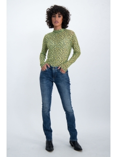 mesh top met all over print m00012 garcia t-shirt 145 limelight