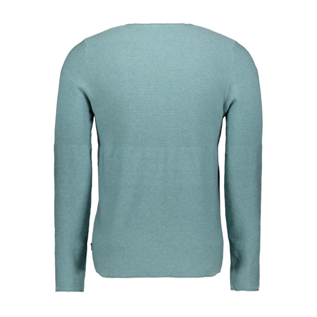 jprblamaximus knit crew organic 12168253 jack & jones trui trellis/melange