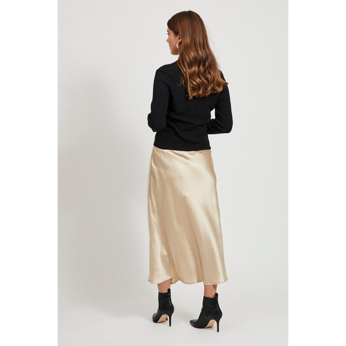 objnina l/s short knit cardigan noo 23031375 object vest black