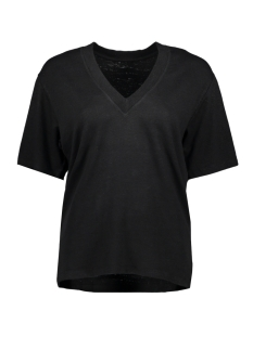 10 Days T-shirt LOW V NECK TEE 20 749 0201 BLACK