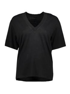 low v neck tee 20 749 0201 10 days t-shirt black