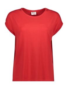 Vero Moda T-shirt VMAVA PLAIN SS TOP GA NOOS 10187159 Goji Berry