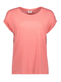 Vero Moda T-shirt VMAVA PLAIN SS TOP GA COLOR 10195724 Tea Rose