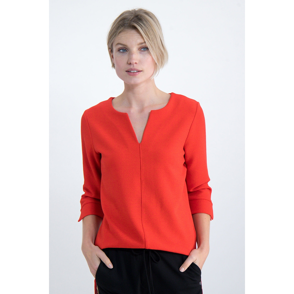 blouse gs000108 garcia blouse 721 poppy red