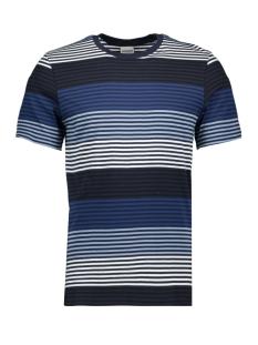 jcoaraf tee ss crew neck 12170181 jack & jones t-shirt faded denim/slim