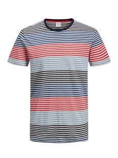 Jack & Jones T-shirt JCOARAF TEE SS CREW NECK 12170181 Chinese Red/SLIM