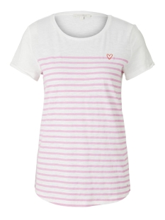 Tom Tailor T-shirt GESTREEPT T SHIRT 1017275XX71 21358