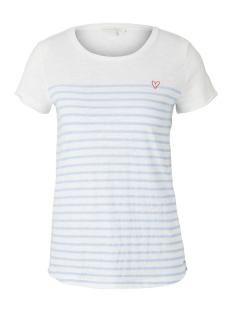 Tom Tailor T-shirt GESTREEPT T SHIRT 1017275XX71 21359