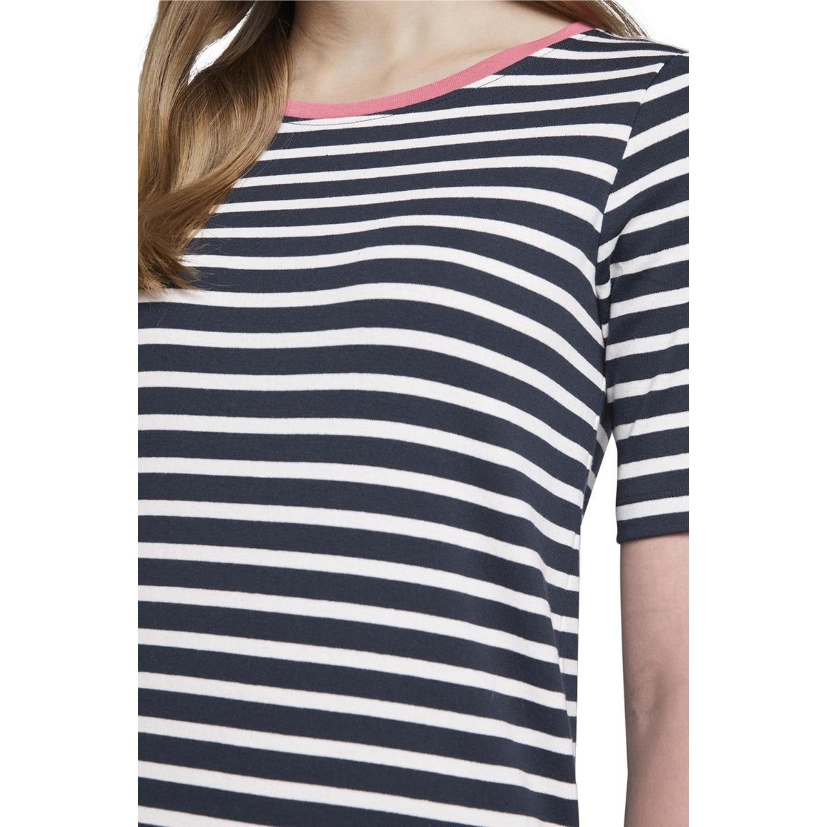 gestreept t shirt 1017126xx70 tom tailor t-shirt 21341