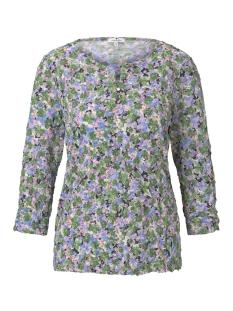 Tom Tailor T-shirt GEDESSINEERD SHIRT IN CRINKLE LOOK 1017464XX70 22098