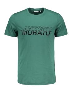 sport the green mmks01816 antony morato t-shirt 4054 emerald
